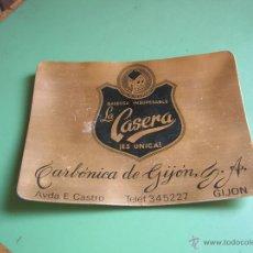 Vintage: CENICERO GASEOSA LA CASERA.GIJÓN. Lote 50459243