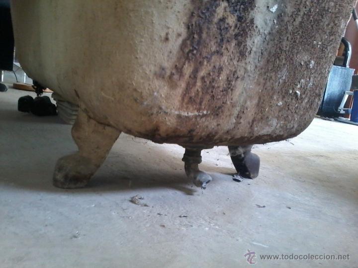 Antigua ba era de hierro fundido esmaltada en b comprar for Banera hierro fundido