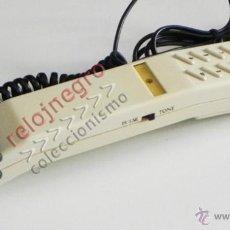 Vintage: TELÉFONO PEQUEÑO FINO - COLOR MARFIL - FUNCIONA - ¿ AÑOS 70 80 ? - ¿ VINTAGE RETRO ?- MÁQUINA - RARO. Lote 50728490