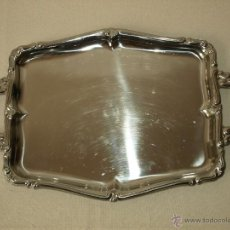 Vintage: BANDEJA DE ACERO INOXIDABLE MONIX 18/10. 46 X 29 CM. VER FOTOS Y DESCRIPCION.. Lote 50854641