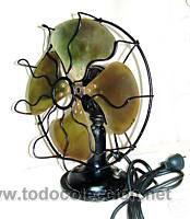Ventiladores antiguos comprar en todocoleccion 50890970 - Ventiladores de techo antiguos ...