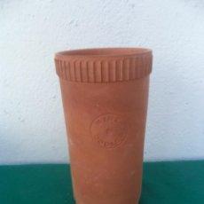 Vintage: FLORERO DE BARRO. Lote 50913554