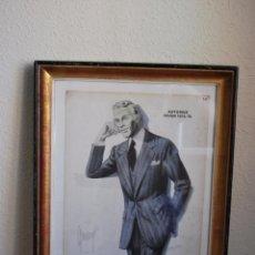 Vintage: CARTEL CATÁLOGO MODA HOMBRE - OTOÑO INVIERNO 1975-76 - JEAN CHOISELAT - PARÍS - FRANCIA. Lote 51002000