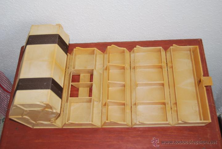 Vintage: CURIOSA CAJA DE HERRAMIENTAS ROLYKIT - SISTEMA ENROLLABLE - AÑOS 70-80 - 1 METRO - Foto 10 - 70492995