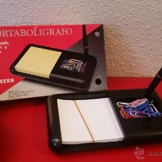 Vintage: PORTABOLIGRAFO MARCA ARTES VINTAGE AÑOS 80-90 ESCRITORIO CLASIFICADOR OFICINA. Lote 51164557