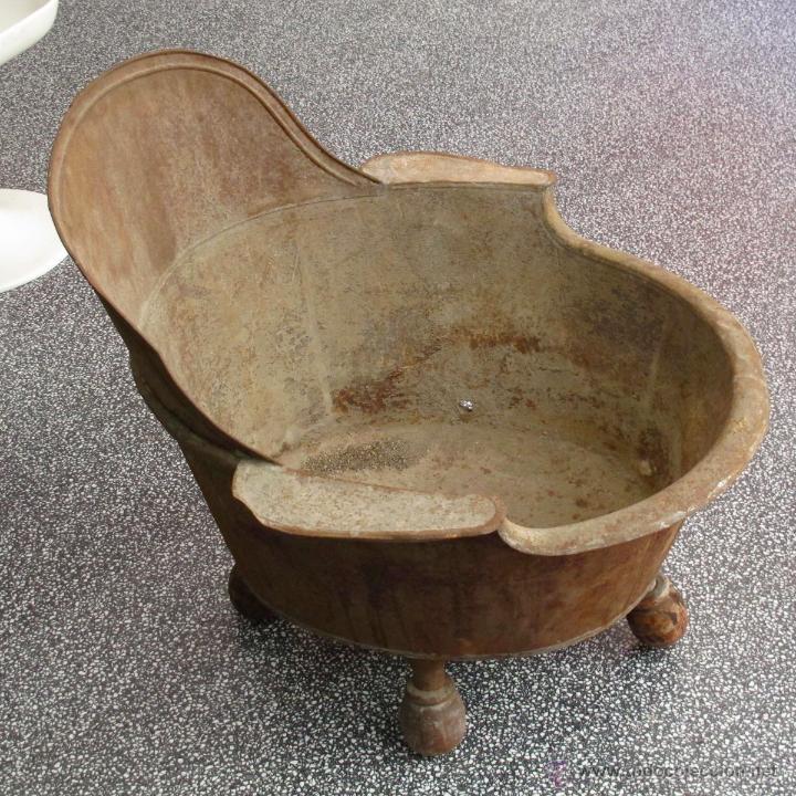 Ba era zinc metal patas antigua vintage comprar en Baneras de patas antiguas