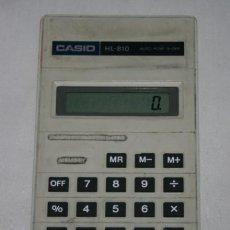 Vintage: CALCULADORA VINTAGE CASIO HL-810 - FUNCIONA - VER DESCRIPCION. Lote 51329292