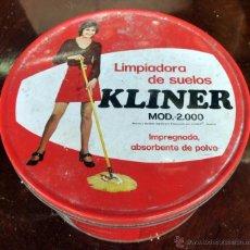 Vintage: LIMPIADORA SUELOS KLINER MOD 2000. EN CAJA ORIGINAL CON CONTENIDO NUEVO Y PROTEGIDO. ABRILLANTADORA. Lote 51381686