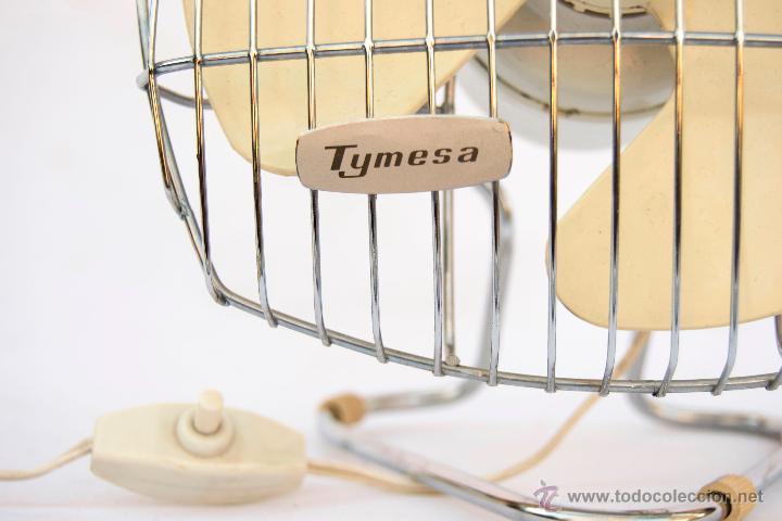 Vintage: Ventilador Tymesa. Años 60 - Foto 2 - 51779983