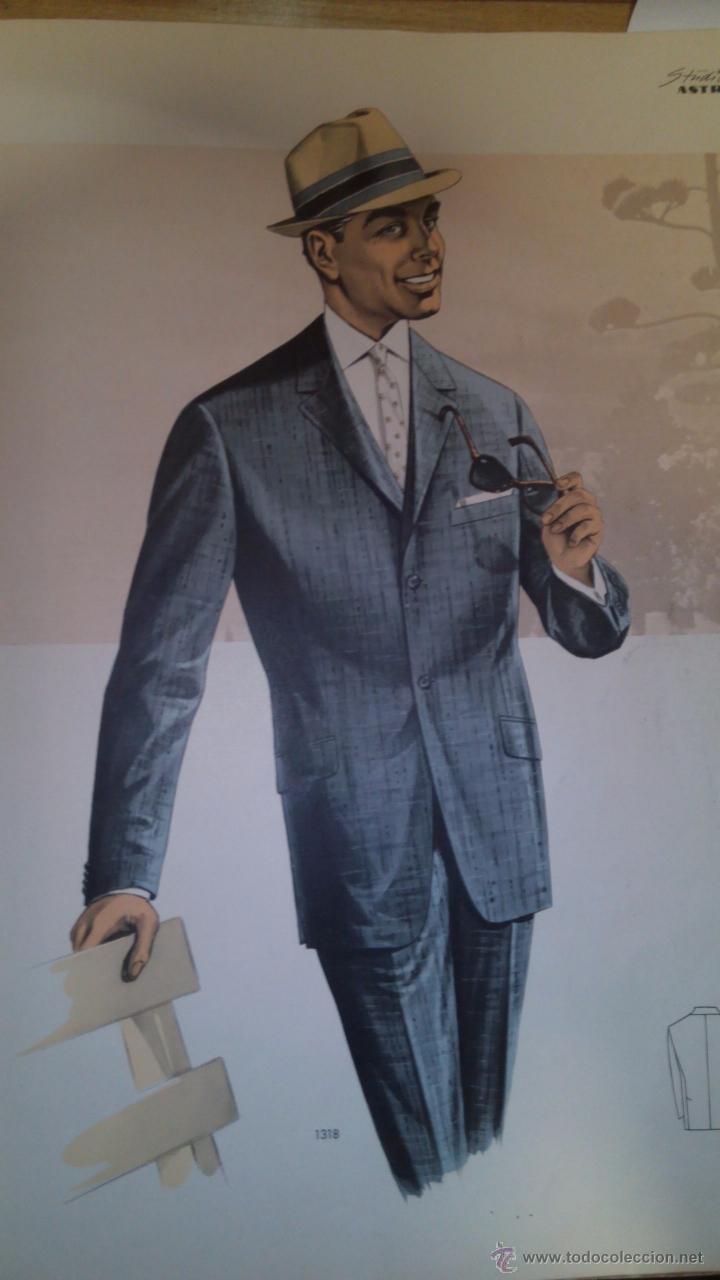 Vintage: Catalogo de sastrería laminas 1963 ilustraciones - Foto 2 - 51882196
