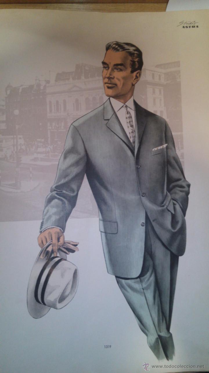 Vintage: Catalogo de sastrería laminas 1963 ilustraciones - Foto 3 - 51882196