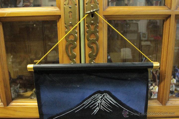 Vintage: TAPIZ ORIENTAL 80X30cm CON CUERDA PARA COLGAR, SE ENROLLA. AÑOS 60 - Foto 3 - 52125477