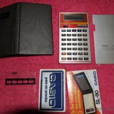Vintage: VINTAGE CALCULATOR CASIO TR-6000 TRADUCTOR AS NEW. Lote 52153180