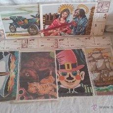 Vintage - LAMINAS MARQUETERIA WUTO - 51981092