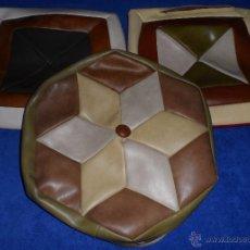Vintage: LOTE DE TRES ANTIGUOS COJINES DE SKY - AÑOS 60. Lote 52318227