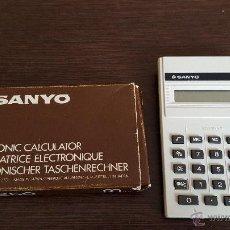 Vintage: SANYO CX250 CALCULADORA. Lote 52480598