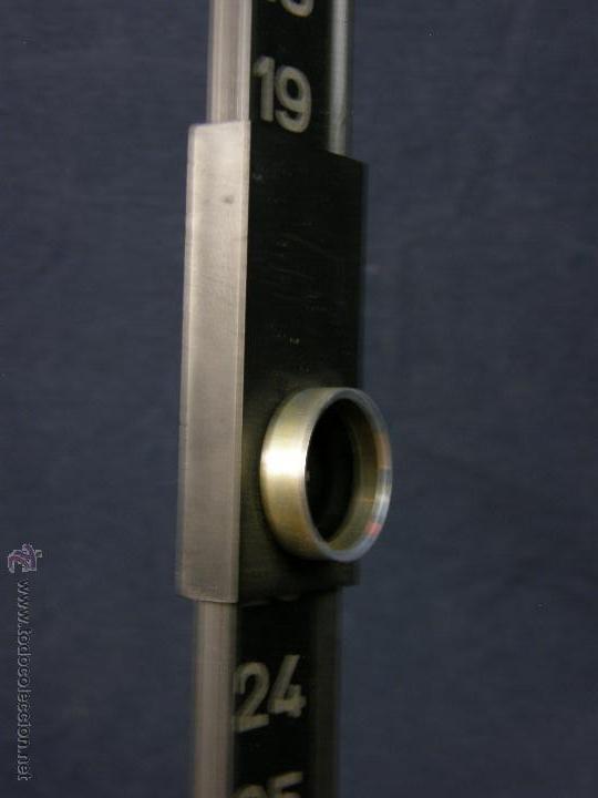 Vintage: calendario de colgar numeración mes visor deslizante 48,5x2,5cms - Foto 9 - 52643982