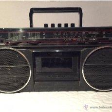 Vintage: RADIO CASSETTE SHARP MODELO GF-3939Y - FUNCIONA A PILAS Y A RED - AÑOS 70. Lote 52745772