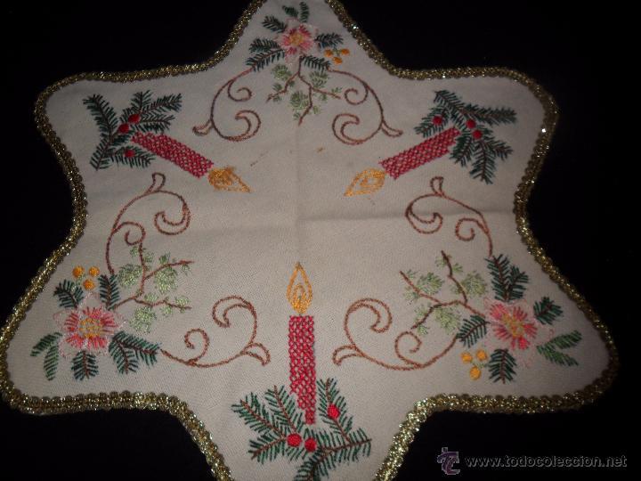 Vintage: Tres tapetes de Navidad - Foto 5 - 52867355