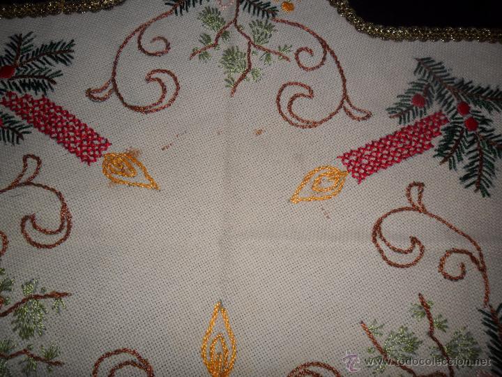 Vintage: Tres tapetes de Navidad - Foto 6 - 52867355
