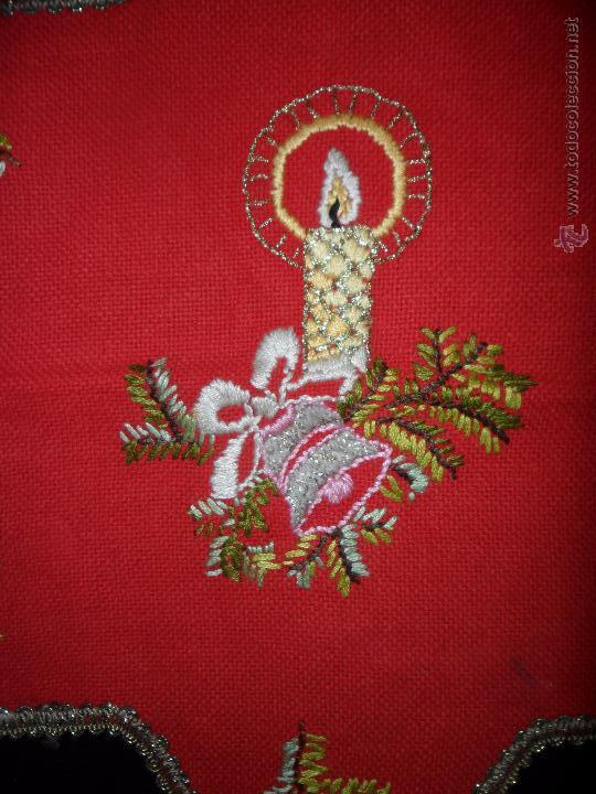 Vintage: Tres tapetes de Navidad - Foto 8 - 52867355