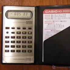 Vintage: CALCULADORA CASIO AQ-2000 AQ2000 AQ 2000 FUNCIONANDO PERFECTA. Lote 52886191