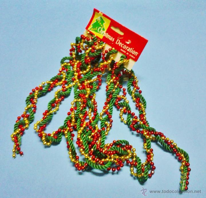 navidad / adorno navideño - cordon con bolas bo - Comprar en ...