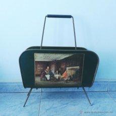 Vintage: REVISTERO VINTAGE DE METAL. AÑOS 60-70. Lote 53082540