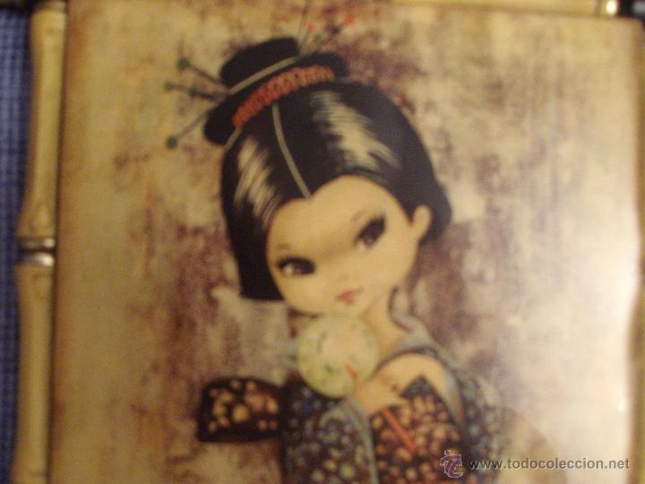 Vintage: ANTIGUO CUADRO--GALLARDA--- - Foto 2 - 53130769