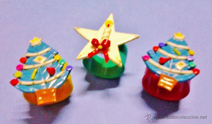 Navidad Aro Servilletero Alegorias Navidena Comprar En - Vintage-navidad