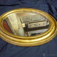 Vintage: ESPEJO VINTAGE, EN MADERA Y PASTA, DORADO.. Lote 53191926