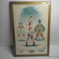 Vintage: CUADRO BALLET PETRUSHKA PETROUCHKA. Lote 53258144