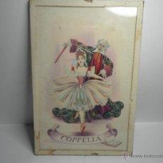 Vintage: CUADRO BALLET COPPELIA. Lote 53258174