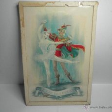 Vintage: CUADRO BALLET EL LAGO DE LOS CISNES. Lote 53258216