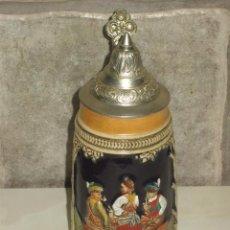 Vintage: JARRA DE CERVEZA DE PORCELANA,MADE IN ALEMANIA.. Lote 53453955