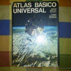 Vintage: ATLAS BASICO UNIVERSAL TEIDE 1970. Lote 53518016