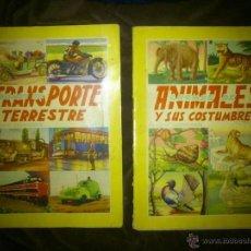 Vintage: LOTE 2 ALBUM CROMOFHER Nº1 Y Nº2, COMPLETOS.. Lote 53519147