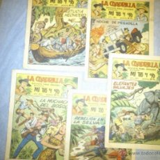 Vintage: COMIC LA CUADRILLA REVISTA PAR JOVENES MI TIO Y YO LOTE DE 5 EJEMPLARES, LEER DESCRIPCION.. Lote 53520787