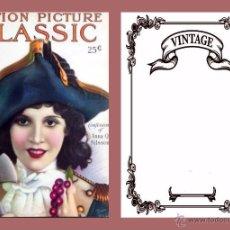 Vintage: TARJETAS PUBLICIDAD VINTAGE 9X6CM COLECIONABLES -5. Lote 194337781