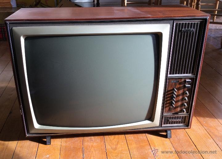 Televisi n philips a os 70 comprar en todocoleccion - Television anos 70 ...