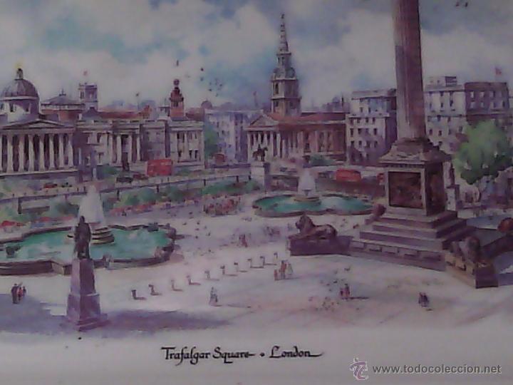 Vintage: TARJETERO EN MELAMASTER DE KENNETH AND BROMLEY DE TRAFALGAR SQUARE. LONDON. - Foto 2 - 53667617