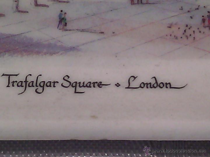 Vintage: TARJETERO EN MELAMASTER DE KENNETH AND BROMLEY DE TRAFALGAR SQUARE. LONDON. - Foto 7 - 53667617