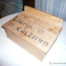 Vintage: CAJA LIMPIA ZAPATOS. Lote 53735731