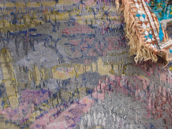Alfombra tapiz de chenilla terciopelo a os 60s comprar for Alfombra terciopelo