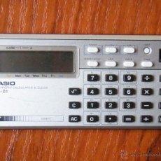 Vintage: CALCULADORA CASIO ML-81 ML81 FUNCIONANDO. Lote 53887775