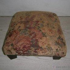 Vintage: REPOSAPIES ANTIGUO. 30 X 30 X 14 CM.. Lote 54048504