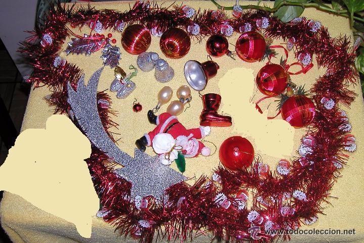 Lote de antiguos adornos vintage para navidad d comprar for Adornos navidad online