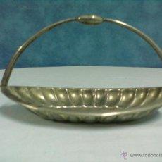 Vintage: CENTRO MESA METAL PLATEADO PARA RESTAURAR.. Lote 54091420