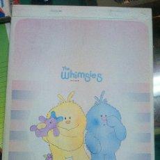 Vintage: LIBRETA AÑOS 80. NUEVA. THE WHIMSIES VILLAGE. Lote 54165094