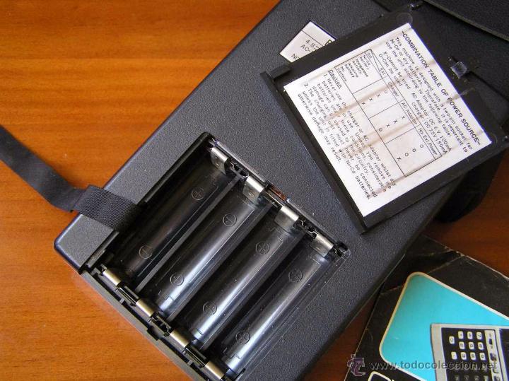 Vintage: CALCULADORA PRINZTRONIC SR88M AÑOS 70 - CALCULATOR TASCHENRECHNER - Foto 19 - 54178402